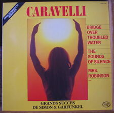 CARAVELLI GRANDS SUCES DE SIMON&GARFUNKEL SEXY COVER FRENCH LP MFP RE-ISSUE