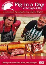 River Cottage Pig in a Day DVD Hugh Fearnley-Whittingstall VGC Rare!
