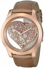 GUESS Women's Clearly HEART GOLD NWT/NIB