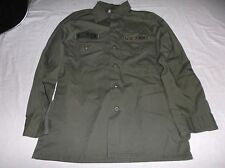 US Army Man's Utility Poly / Cotton Durable Press Shirt SIZE 14 1/2 x 31 8780