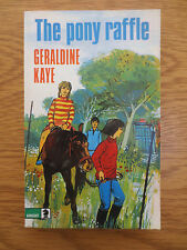 VINTAGE Knight Book THE PONY RAFFLE by Geraldine Kaye 1974