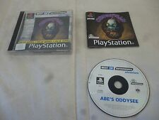 abe's odysee oddworld PS1 PS P S 1 psx
