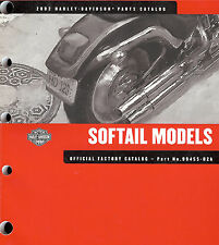 2002 HARLEY-DAVIDSON SOFTAIL PARTS CATALOG MANUAL -FLSTC FLSTF FLSTS FXSTD FXSTS