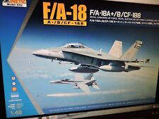 KINETIC 1/48th SCALE F/A-18 CANADIAN /AUSTRALIAN HORNET  MODEL KIT ( # 48030 )