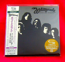 Whitesnake Ready An Willing JAPAN SHM MINI LP CD UICY-93739