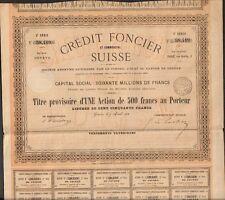 CRÉDIT FONCIER SUISSE 1867 (SUISSE) (R)