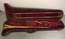 Vtg Kingston Trombone and Case