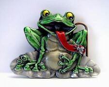 Buckle with Frog - Full Funny, real the Muhammad baqir Belt Buckle