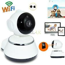 Wireless 720P HD Pan Tilt Security CCTV IP Camera IR Night Vision WiFi Webcam UK