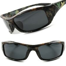 Outdoor Fishing Hunting Camouflage Camo Tactical Wrap Rectangle Sunglasses B80