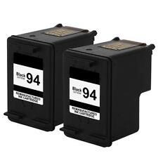 2 pk 94 C8765WN Black Ink For HP Deskjet 460 6520 6540 6620 6830 6840 9800