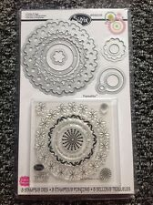 Sizzix Stamp And Die Cut (Framelits) Circles And Tags - 659205