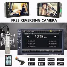 7'' Bluetooth HD AUTORADIO 2DIN MP5 Player Stereo USB GPS FM Radio Touch Screen