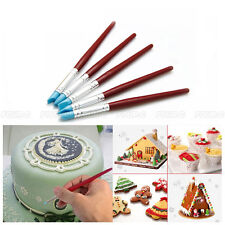 5 pcs Silicone Cake Decorating Pen Set Food Paint Icing Cupcake Sugarcraft Tools