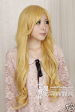 75cm IB Mary and Garry Game Wavy long Anime Cosplay Wig  Free Ship +wig cap