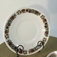 "Johnson Brothers Ironstone Saucers Lausanne Pattern Snowhite 5 5/8"" Saucers"