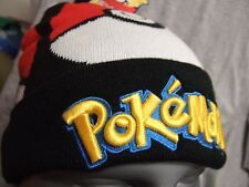 Adult Pokemon Go Pokeball Anime Nintendo Nes Game Winter Pom Beanie Hat Cap Ski