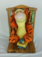 Winnie The Pooh & Tigger Bookend Buddies Plush Figures  Book Just Tigger