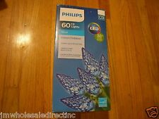 New Philips 60 C6 Cool White LED Lights Indoor Outdoor Green Wire 88% Save