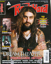 ROCK HARD 7 2009 Dream Theater Black Label Society Devildriver Therion Elegy