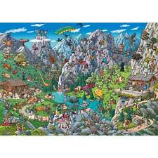 NEW! Heye Alpine Fun by Tanck 1000 piece comic cartoon jigsaw puzzle