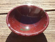 NATURAL FANCY JASPER STONE HAND CARVED GEMSTONE BOWL [11]