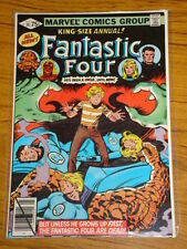 FANTASTIC FOUR ANNUAL #14 VOL1 MARVEL COMICS PEREZ ART 1979