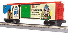 MTH Railking O Trains 2013 Christmas Box Car Boxcar 30-74724