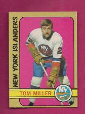1972-73 OPC  # 32 ISLANDERS TOM MILLER ROOKIE VG CARD  (INV#2503)