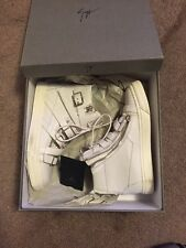 Authentic Giuseppe Zanotti Strap/Buckle High Top Sneaker,Sz 39 US 7 $995 Retail
