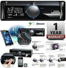 Clarion FZ 502E Car Stereo AutoRadio USB MP3 WMA Aux A2DP Bluetooth iPhone ipod