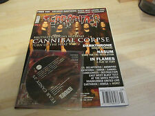TERRORIZER MUSIC MAGAZINE NO 141 with original cd CANNIBAL CORPSE , IN FLAMES