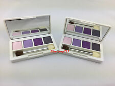 Lot of 2: Clinique Shadow Quad: Graphite /Purple Pumps/ Lavender/ Angel eyes
