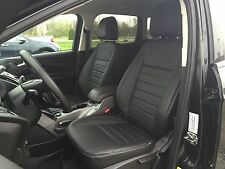 KATZKIN BLACK LEATHER SEAT COVER COVERS 2013 2014 2015 2016 FORD ESCAPE SE