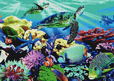 Sea world Compté Cross Stitch Kit tropical Sealife animaux / insectes