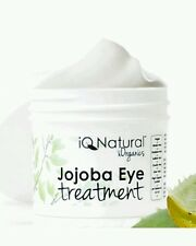 IQ NATURAL Eye Treatment Cream ANTI AGING Organic Jojoba Firm Smooth Wrinkles