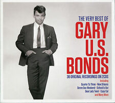 THE VERY BEST OF GARY U.S. BONDS - 2 CD BOX SET - NEW ORLEANS, NOT ME & MORE