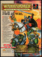 WARHAMMER: Shadow of the Horned Rat__Original 1997 Print AD / SSI game promo_PSX
