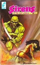 SIRENS OF THE LOST WORLD #1  SIGNED EDITION  Butch Burcham