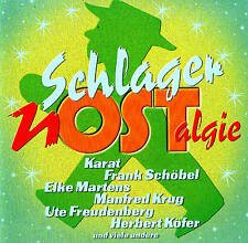 SCHLAGER nostalgia Top GDR Ostalgie! 18 Tracks CD NEW & ORIG. BOX Disky 2003