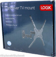 "Logik lfmm14 movimiento completo TV Wall Mount Bracket, 26-37 ""Vesa 400x400, 300 X 200 X"