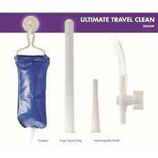 Rettale DOUCHE 5 PC TRAVEL KIT SET Colonic IRRIGAZIONE clistere vaginale salute