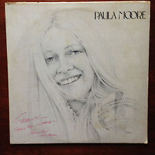 Paula Moore 1978 private Miami press folk/psych pop LP