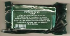"Israeli 4"" Trauma Bandages Vacuum Seal Military Tactical Emergency Dressing IDF"