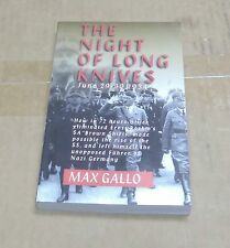The Night of Long Knives by Max Gallo (1997, Paperback)