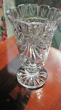 "Waterford Society Crystal Penrose Vase 1st Iss 8.5"" 1995 O' Leary, RARE– WEDDING"