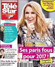 TELE STAR N°2103 21/01/2017  KATE MIDDLETON/ CHRISTIAN/ FOGIEL/ BERNIER/ M.OBAMA