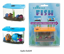 Kids Magic Growing Fish In Tank Aquarium Toy Pet Christmas Gift Stocking Filler