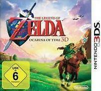 Nintendo 3DS LEGEND OF ZELDA OCARINA OF TIME 3D DEUTSCH 3 DS Top Zustand