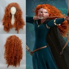 Hot Sell! Disney Pixar Animated movie of Brave MERIDA cosplay wig